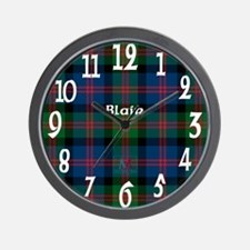 Blair Clan Wall Clock