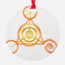 Tetrahedron Crop-Circle Ornament