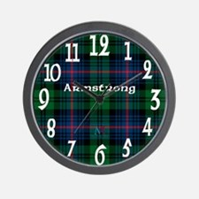 Armstrong Clan Wall Clock