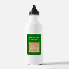 BugBackCov Water Bottle