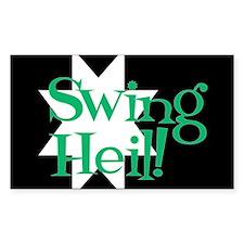 Rectangular Swing Heil Decal