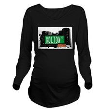 Bolton St Long Sleeve Maternity T-Shirt