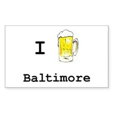 Baltimore Rectangle Decal