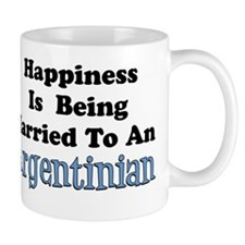 Happiness Married To Argentinian Mug