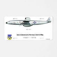ec121-1_FinalPoster Aluminum License Plate