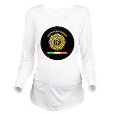 PDF Round Long Sleeve Maternity T-Shirt