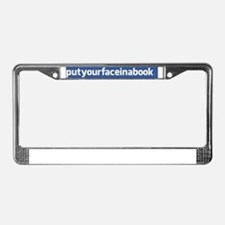 facebook bumper License Plate Frame