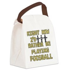 foosball Canvas Lunch Bag