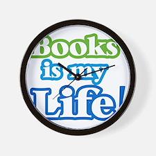 booksislife Wall Clock
