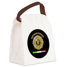 PDF Round Canvas Lunch Bag