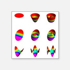 """wide table  03 03 0300 Square Sticker 3"""" x 3"""""""