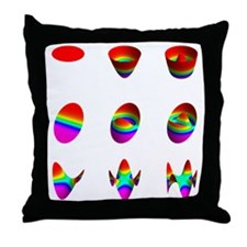 wide table  03 03 0300 Throw Pillow