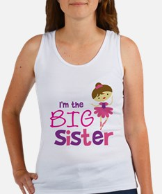 BalletBigSisterBrownV2 Women's Tank Top