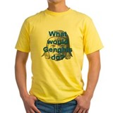 Genghis khan Mens Yellow T-shirts