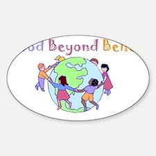 world1 Sticker (Oval)