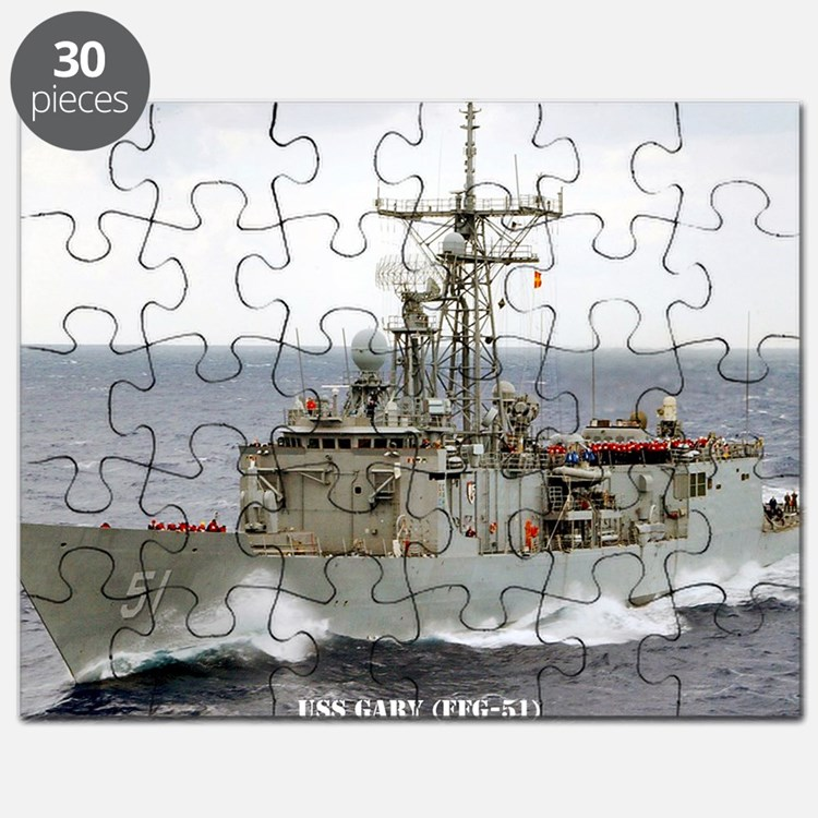 gary large framed print Puzzle