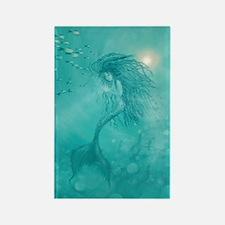 mermaid Rectangle Magnet