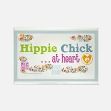 20x12poster-hippie-chick Rectangle Magnet