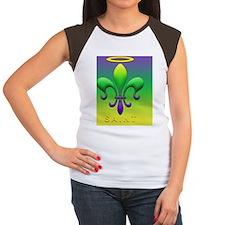 FleurSAINTmgCcMg Women's Cap Sleeve T-Shirt