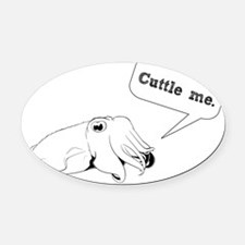 newcuttle1 Oval Car Magnet