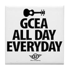 GCEA All Day Everyday Tile Coaster