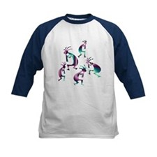 Purple and Green Kokopelli Tee