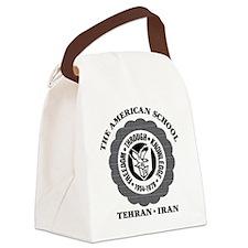 TASBlackAltStoneWashCap.eps Canvas Lunch Bag