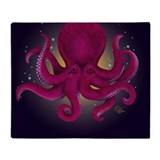 Octopus Fleece Blankets
