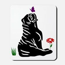 bulldog-clip3-large1-butterfly-c2 Mousepad