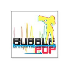 "bubblepopcopy Square Sticker 3"" x 3"""