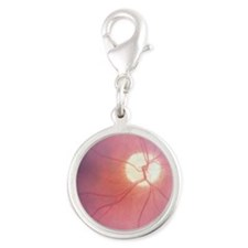 Optic Nerve T-Shirt 4 Doctors Silver Round Charm