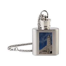 El Morrow Castle in Havana Cuba Flask Necklace