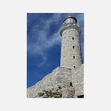 El Morrow Castle in Havana Cuba Rectangle Magnet