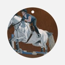 kingston_horse1 Round Ornament