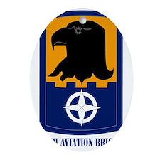 SSI - 244th Aviation Brigade with Te Oval Ornament