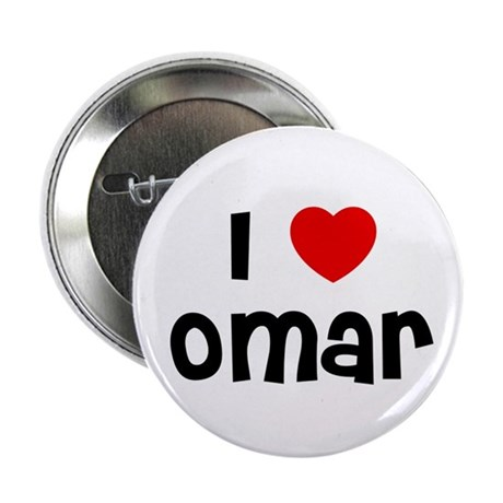 "I * Omar 2.25"" Button (10 pack)"