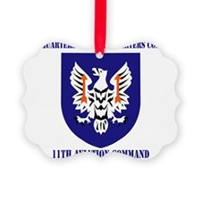 SSI - HHC -11th Aviation Command  Ornament