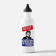 ART JFK for Congress Water Bottle