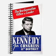 ART JFK for Congress Journal