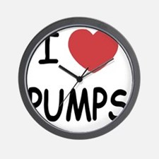 PUMPS Wall Clock