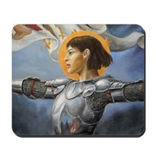 joan square Mousepad