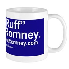 Dogs Against Romney bumber-get-rough fi Small Mug