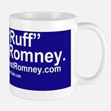 Dogs Against Romney bumber-get-rough fi Small Small Mug