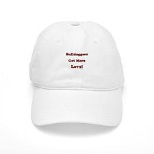 """""""Bulldoggers Get More Love"""" R Baseball Cap"""
