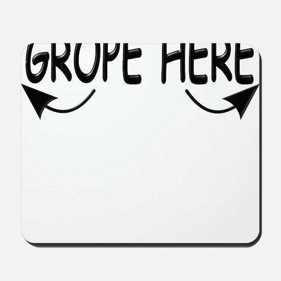 TShirt_Grope1 Mousepad
