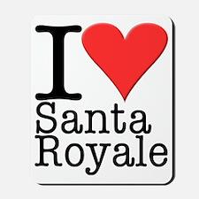 Love Santa Royale Mousepad