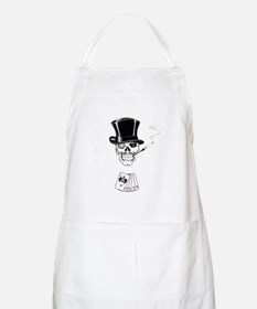 aces -n- eights dead mans hand - white text Apron
