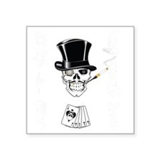 "aces -n- eights dead mans h Square Sticker 3"" x 3"""