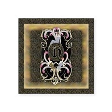 "Keepsake H-Barbier FF Square Sticker 3"" x 3"""