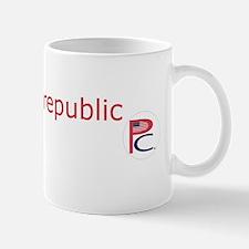 P  C, sm flag, on wht,7 copy-copy,6 cop Mug